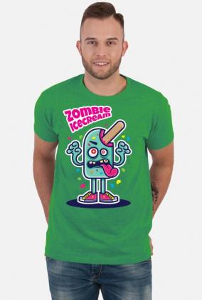 Zombie Ice Cream - lód potwór koszulka wakacyjna, lato