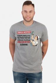 Kroplowka na wzmocnienie - koszulka męska
