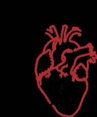 Zawal serca - koszulka meska