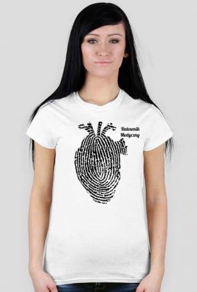 Ratownik medyczny i serce koszulka