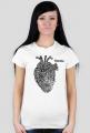 Położna i serce koszulka