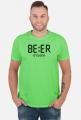 T-shirt męski Piwo - BEER o'clock, Premium Cotton , Gildan, 190 G/m2