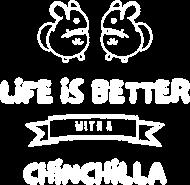 Koszulka damska life is better czarna