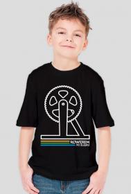 Rowerem Po Śląsku - koszulka dziecięca czarna