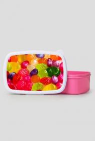 Pudełko śniadaniowe - cukierki