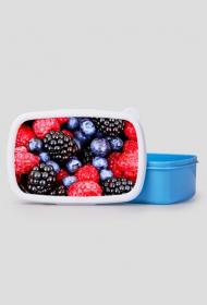 Pudełko śniadaniowe - owoce leśne