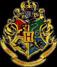 Hogwart herb męska koszulka