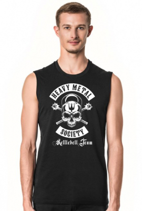 Heavy Metal Society - white - MARCIN