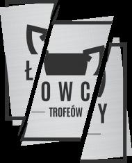 Koszulka Łowcy - Cięte Logo Szare