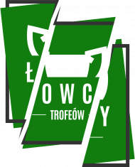 Koszulka Łowcy - Cięte Logo Zielone