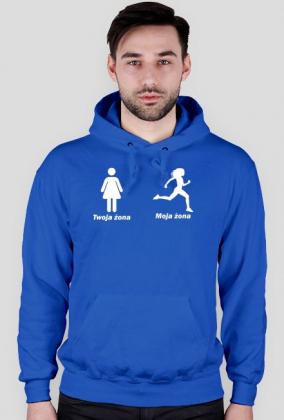 Twoja żona, Moja żona - Męska bluza dla biegaczy