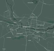 Koszulka z mapą Bydgoszczy.