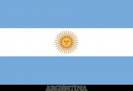 Koszulka z flagą Argentyny.