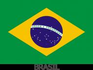 Koszulka z flagą Brazylii.