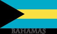 Koszulka z flagą Wysp Bahama.