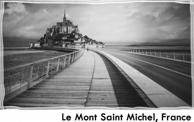 Koszulka Le Mont Saint Michel.