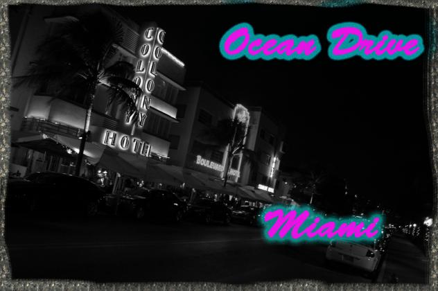 Koszulka Ocean Drive, Miami.