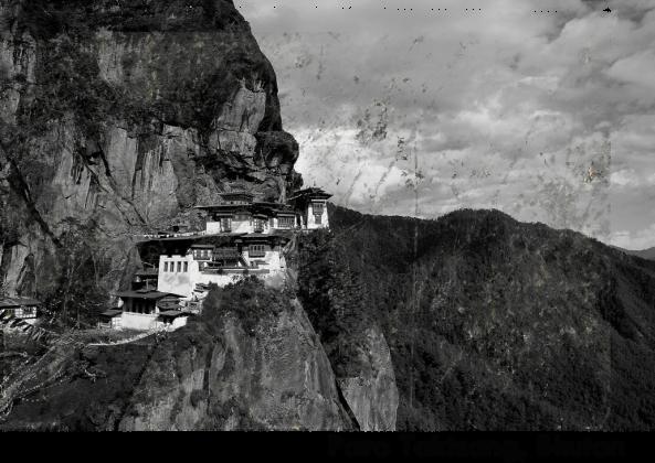 Koszulka Paro Taktsang, Bhutan.