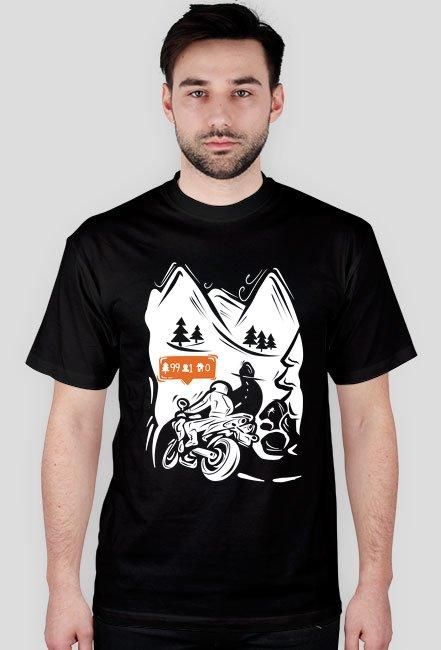 motocykl trasa górska m