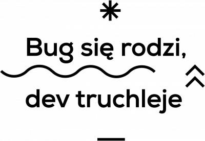 Bug się rodzi, dev truchleje XMAS2018 Collection kubek termiczny