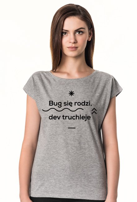 Bug się rodzi, dev truchleje XMAS2018 Collection wmn