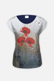 "koszulka  "" maki w deszczu"""