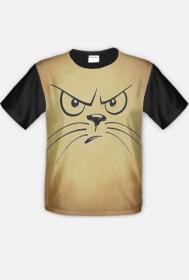 """koszulka """" kot myśli"""""""