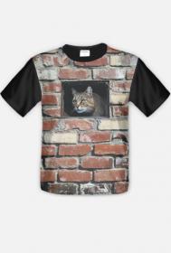 """koszulka """" kocia kryjówka"""""""