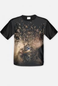 """koszulka """" szalony kot"""""""