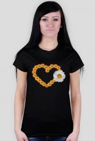 """koszulka """" serce"""""""
