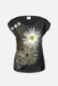 """koszulka  """" światło i kwiaty"""""""