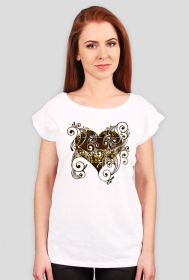 "koszulka ""pozłacane serce"""