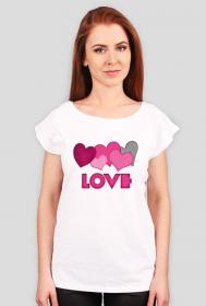 "koszulka "" Love"" A"