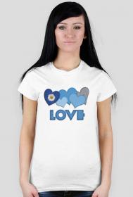 "koszulka "" love"" B"