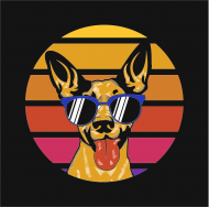 chill dog t shirt kids