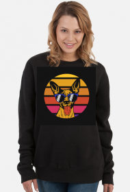 chill dog sweatshirt