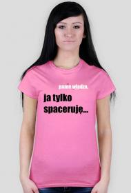 SPACERUJE TSHIRT DAMSKI 2