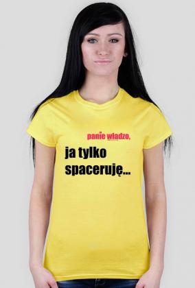 SPACERUJE TSHIRT DAMSKI