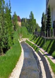 Woda z potoku - plakat
