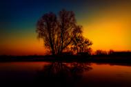 Kolory zachodzącego słońca