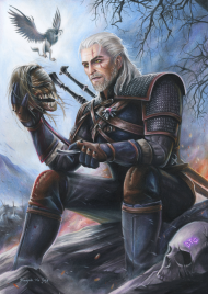 Geralt - Plakat