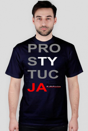 Konstytucja Koszulka Parodia - Prostytucja