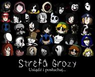 "Koszulka ""Creepypasta Family"""