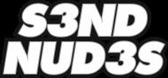 S3ND NUD3S (bluza męska) jasna grafika