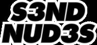 S3ND NUD3S (bluza męska) ciemna grafika