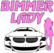 Bimmer Lady (woman t-shirt)