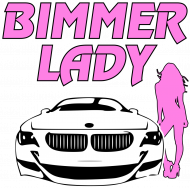 Bimmer Lady (woman sleeveless t-shirt)