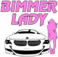 Bimmer Lady (woman oversize t-shirt)