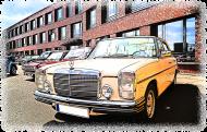 Mercedes-Benz - cartoon (men t-shirt)