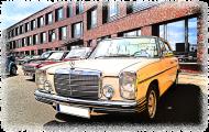Mercedes-Benz - cartoon (woman t-shirt)